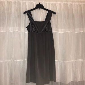ombré grey short vera wang formal dress